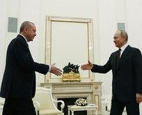 Erdoğan-Putin görüşmesi sona erdi!