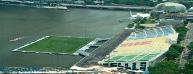 Singapur'da ilginç stadyum
