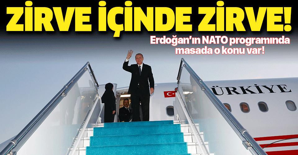 Başkan Erdoğan NATO Liderler Toplantısı'na katılmak üzere Birleşik Krallık'a gidiyor