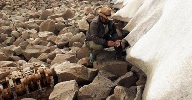 Süphan Dağı'nda İngiliz uçağı bulundu