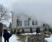 Ukrayna'da facia! Huzurevinde yangın çıktı...