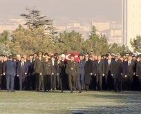 Başkan Erdoğan'dan Anıtkabir'de anlamlı mesaj!