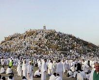 Arafat'ta duygu dolu anlar! Vakfe Duası yapıldı