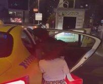 Karşının taksisiyim diyen taksiciye ceza