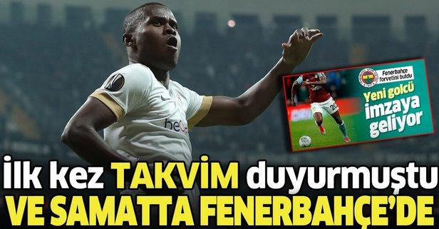 Ve Samatta Fenerbahçe'de