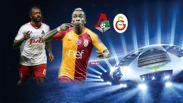 Şampiyonlar Liginde dev heyecan... Lokomotiv Moskova Galatasaray maçı hangi kanalda saat kaçta şifresiz mi 59