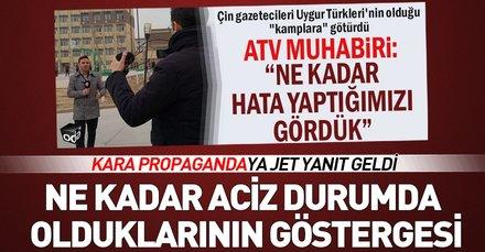 ATV Muhabiri Erdal Kuruçay'dan kara propagandaya sert tepki: Ne kadar aciz durumda olduklarının göstergesi