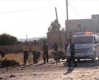 Esed rejimi İdlib'te sivilleri vurdu!