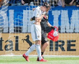 Ibrahimovic rakibine tokat attı! İşte o anlar...