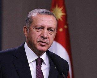 Erdoğandan şehit ailelerine başsağlığı