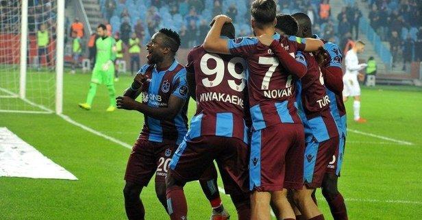 Trabzon fırtına gibi!