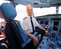 THY'nin 45 yıllık pilotu göklere böyle veda etti!