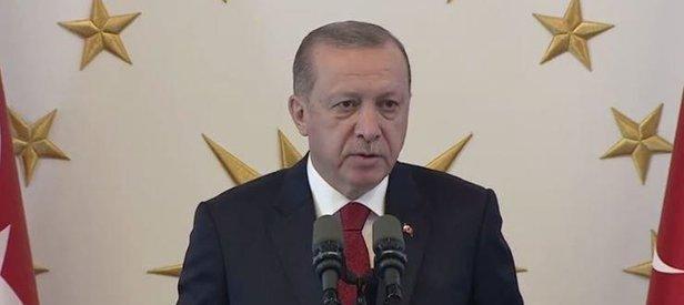 Erdoğan: Türkiye boyunduruk altına alınmaya çalışılıyor