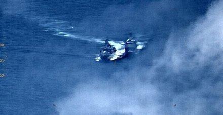 Gerilim tırmanıyor! ABD ve Rus savaş gemileri birbirine girdi