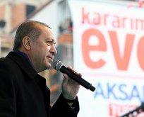 Erdoğan: Bu sistem bileklerimizde prangaydı