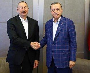 Cumhurbaşkanı Erdoğandan Azerbaycan mesajı