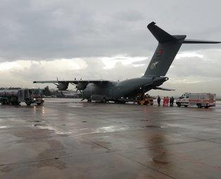 Son dakika: MSB'den İzmir depremi kararı: TSK'ya ait uçak havalandı