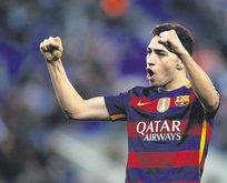 Barça tamam sıra El Haddadi'de