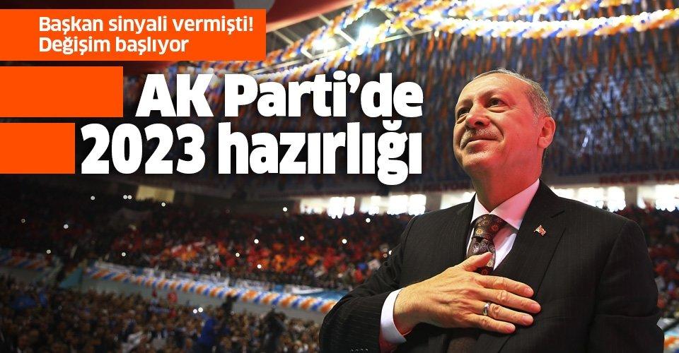 AK Parti'de değişim sonbaharda başlıyor! Başarısız illerin teşkilatları değişecek