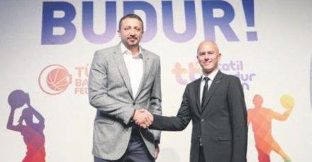 TBF ana sponsorluk anlaşmasını imzaladı