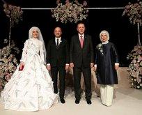 Erdoğan nikah şahidi oldu!