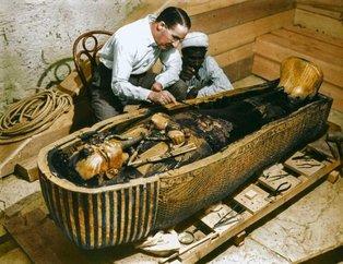 Tutankamonun mezar odasını ilk kez göreceksiniz!