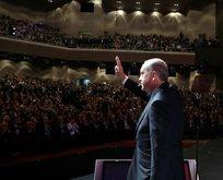 """Erdoğan: """"İstanbul ve ülkemiz için sembol bir mekan olacak"""""""