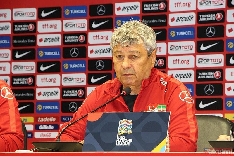 """Lucescu: """"Yurt dışındaki oyuncularımız oynayamıyor"""""""