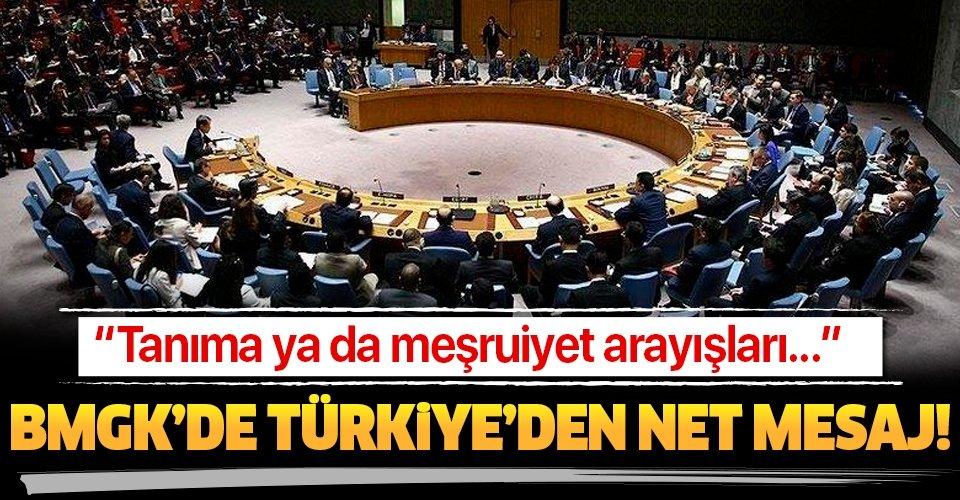 Türkiye'den BMGK'de net 'YPG/PKK' mesajı