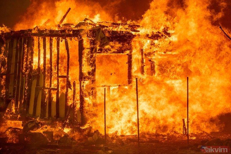 NASA uzaydan görüntüledi! California eyalet tarihinin en büyük yangınıyla mücadele ediyor