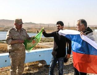 ABD'nin boşalttığı Tişrin üssünde YPG/PKK flamasıyla devir teslim!