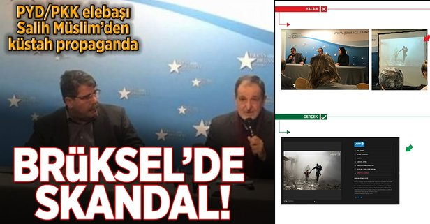 PYD/PKK elebaşı Salih Müslimden küstah hareket
