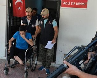 O terörist Adanada böyle yakalandı