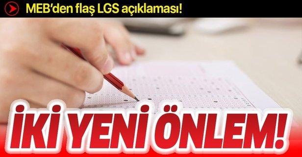MEB LGS için iki yeni önlem daha aldı!