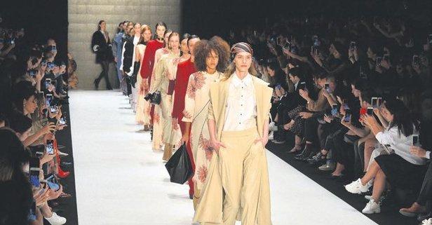 Fashion Week'e koştular