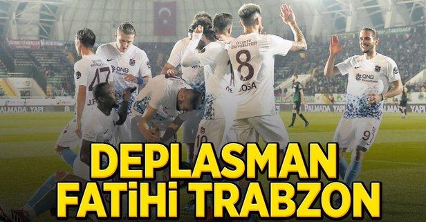 Deplasman fatihi Trabzon