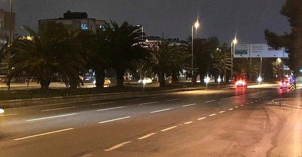 İstanbul kısıtlama sonrası sessizliğe büründü