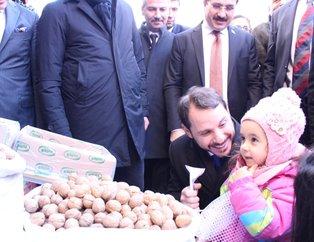 Hazine ve Maliye Bakanı Albayrak'tan İzmir'de esnaf ziyareti!