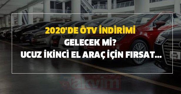 Nissan-Opel-Peugeot-Seat-Fiat-Toyota ÖTV indirimi var mı?