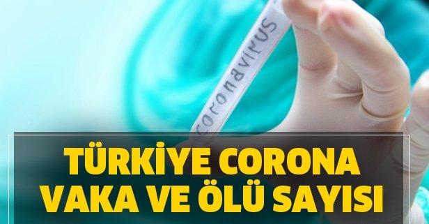 Türkiye koronavirüs tablosu vaka ve ölü sayısı kaç?