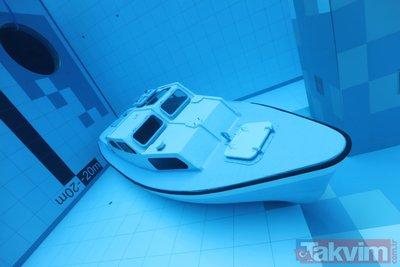 Dünyanın en derin havuzu Polonya'da hizmete girdi