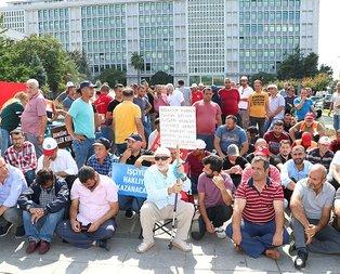 Ekmek nöbetindeki işçilere AK Parti'den destek! Hiçbir CHP'li isim neden gelmiyor?