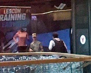 AVM çalışanlarını rehin alan asker gözaltında