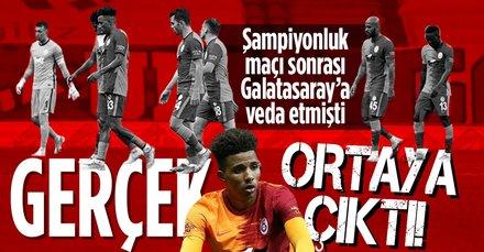 Galatasaray'a veda etmişti! Gerçek ortaya çıktı!