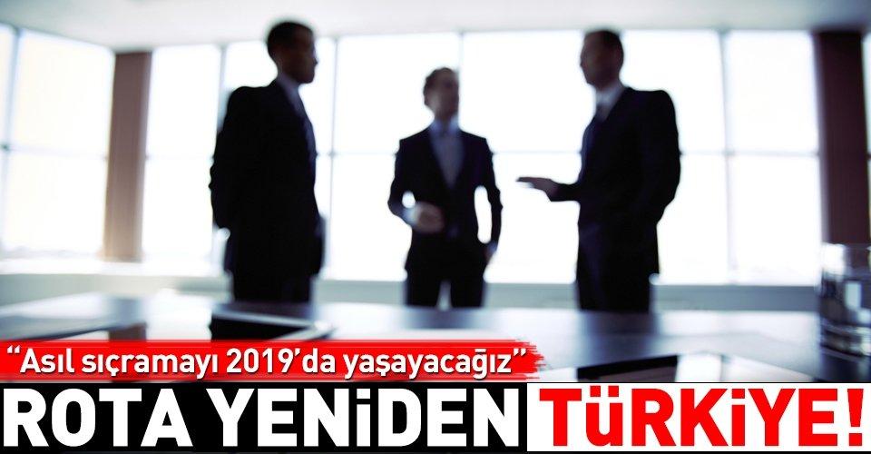 Türkiye'de toplanıyorlar