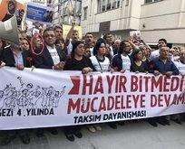 CHP ve HDP terörist için yürüdü