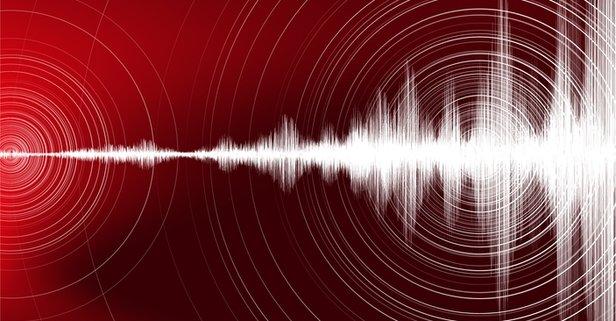 Muğla Marmaris'te korkutan deprem!
