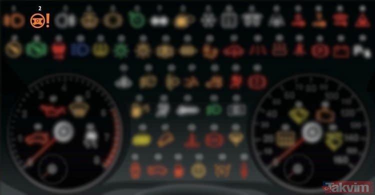 Otomobilinizde bu uyarıyı görürseniz dikkat! Otomobillerde bulunan ikaz lambaları ne anlama geliyor?
