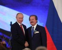 Putin'den Türk iş adamına dostluk nişanı