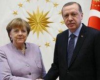 Başkan Erdoğan'dan Merkel hamlesi